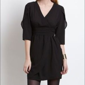 ❤️3 for 60❤️ BB DAKOTA black wrap dress LIKE NEW